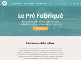 le pré fabriqué agriculture site web