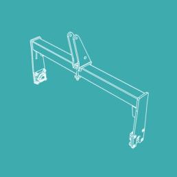 matériel agricole modulable support rouleau